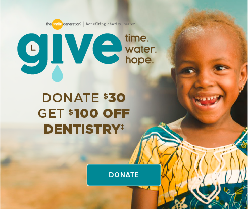 Donate $30, Get $100 Off Dentistry - Dentists of Eagle Mountain